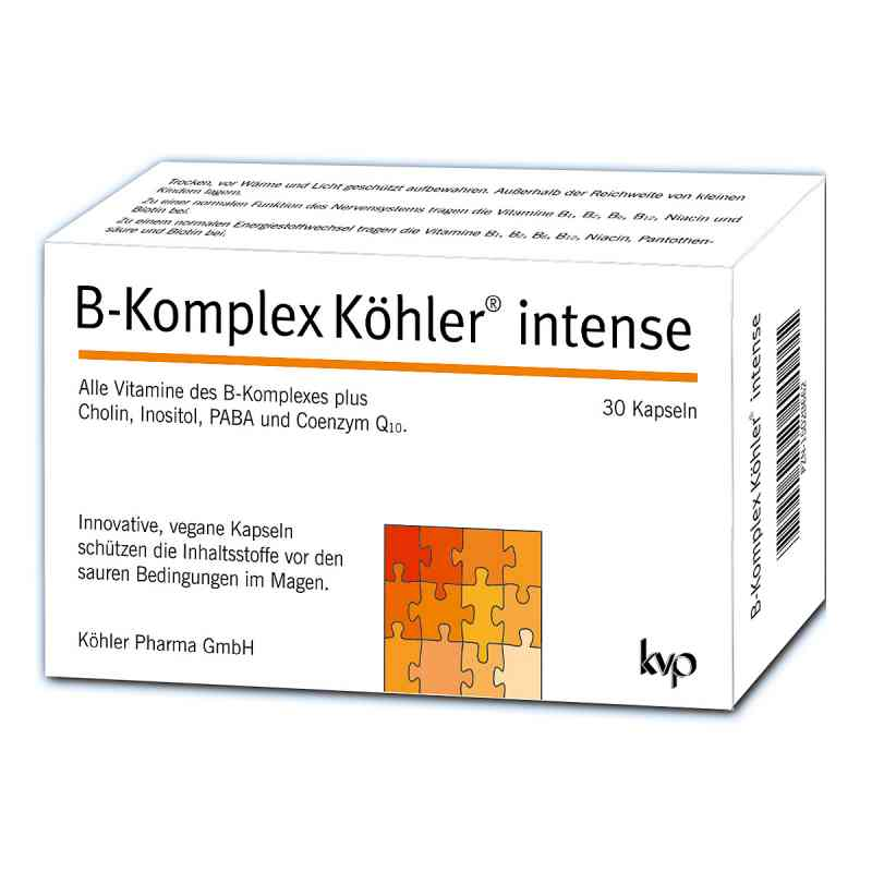 B-komplex Köhler intense Kapseln  bei apo-discounter.de bestellen