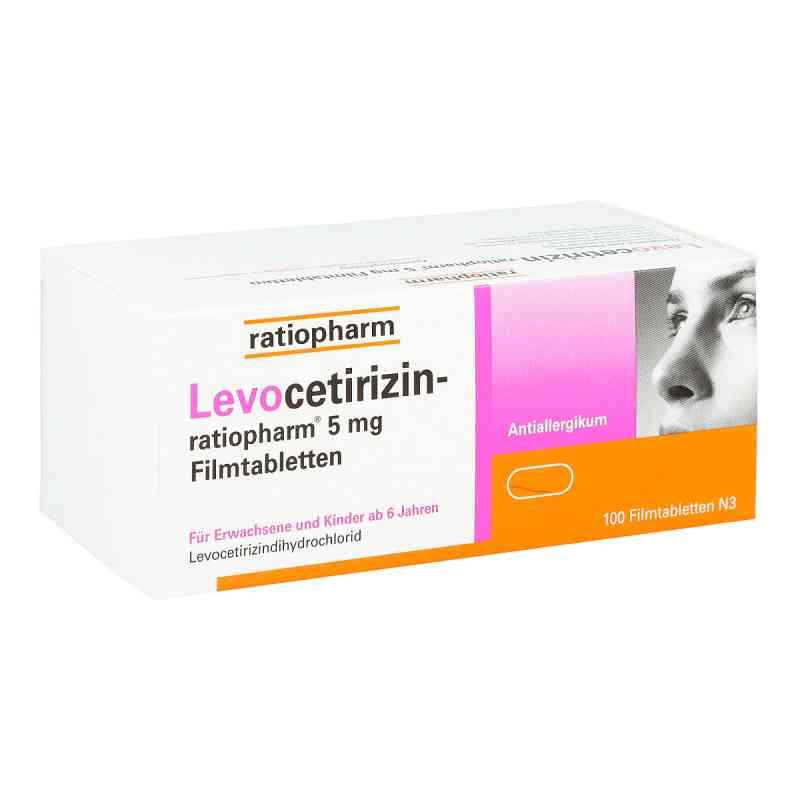 Levocetirizin-ratiopharm 5 mg Filmtabletten  bei apo-discounter.de bestellen