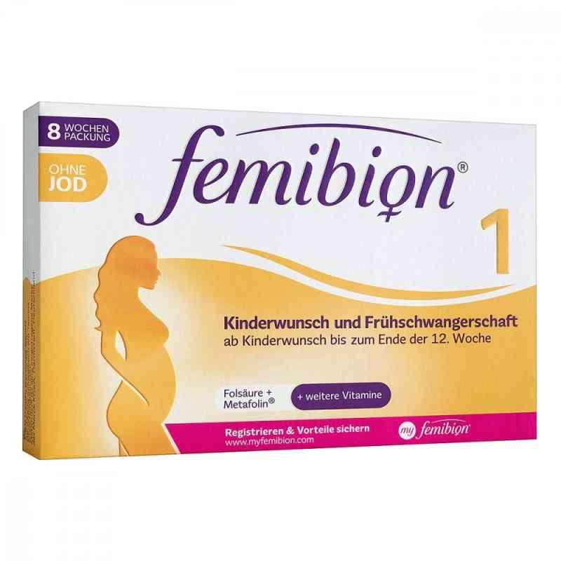 Femibion 1 Kinderwunsch+frühschwangers.o.jod Tabletten  bei apo-discounter.de bestellen