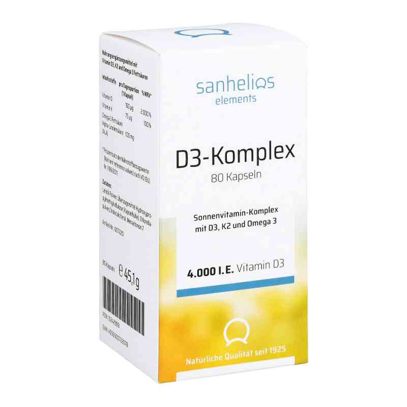 Sanhelios Vitamin D3 Sonnenvitamin-komplex mit K2  bei apo-discounter.de bestellen
