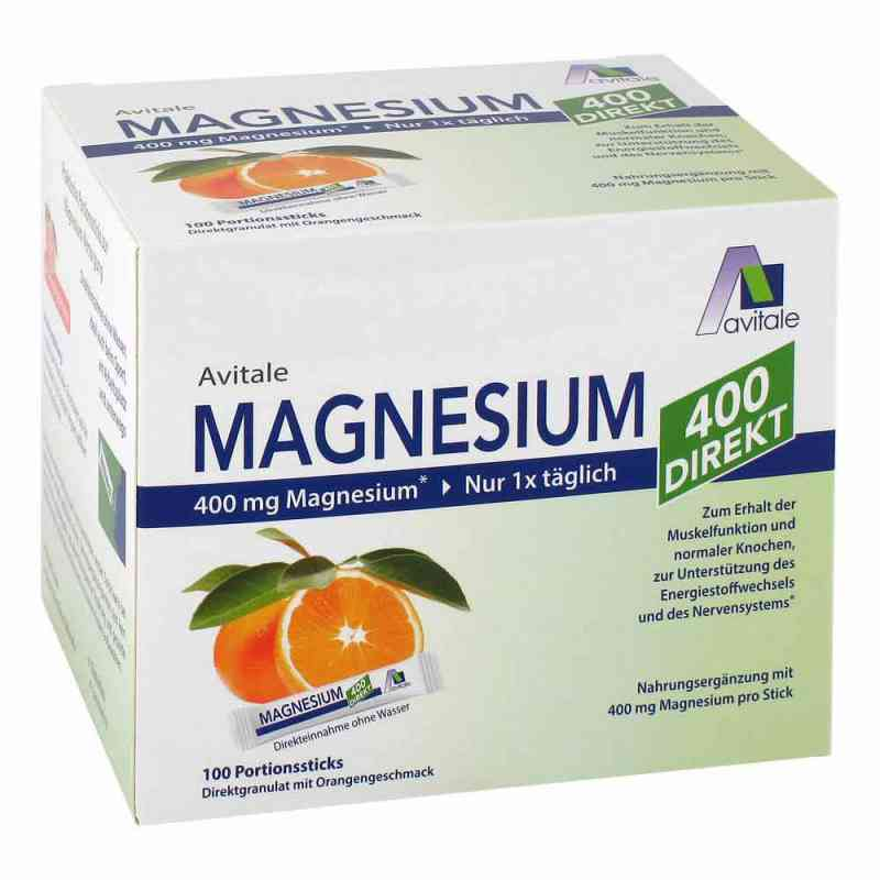 Magnesium 400 direkt Orange Portionssticks  bei apo-discounter.de bestellen