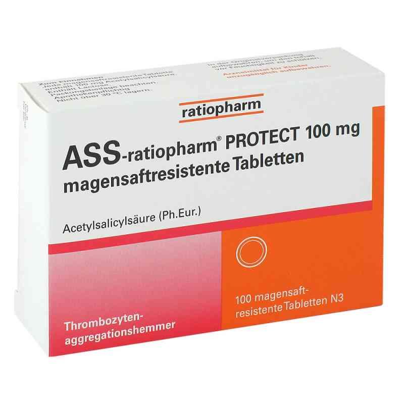 Ass-ratiopharm Protect 100 mg magensaftresistent Tabletten  bei apo-discounter.de bestellen