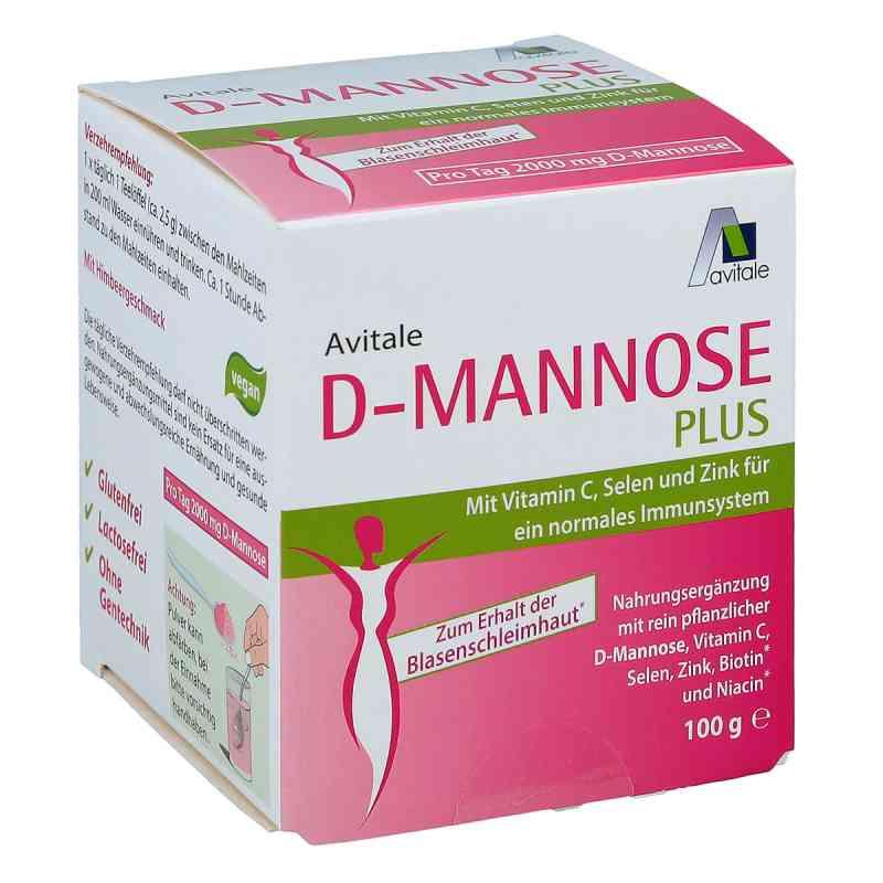 D-mannose Plus 2000 mg mit Vit.u.Mineralstoffe Pulv.  bei apo-discounter.de bestellen