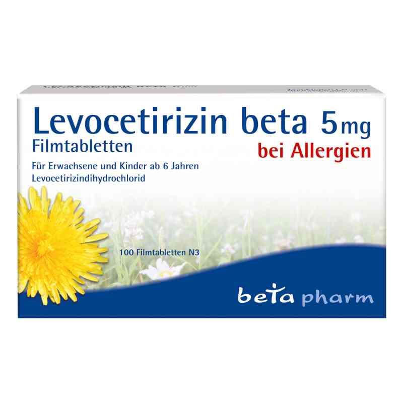 Levocetirizin beta 5 mg Filmtabletten  bei apo-discounter.de bestellen
