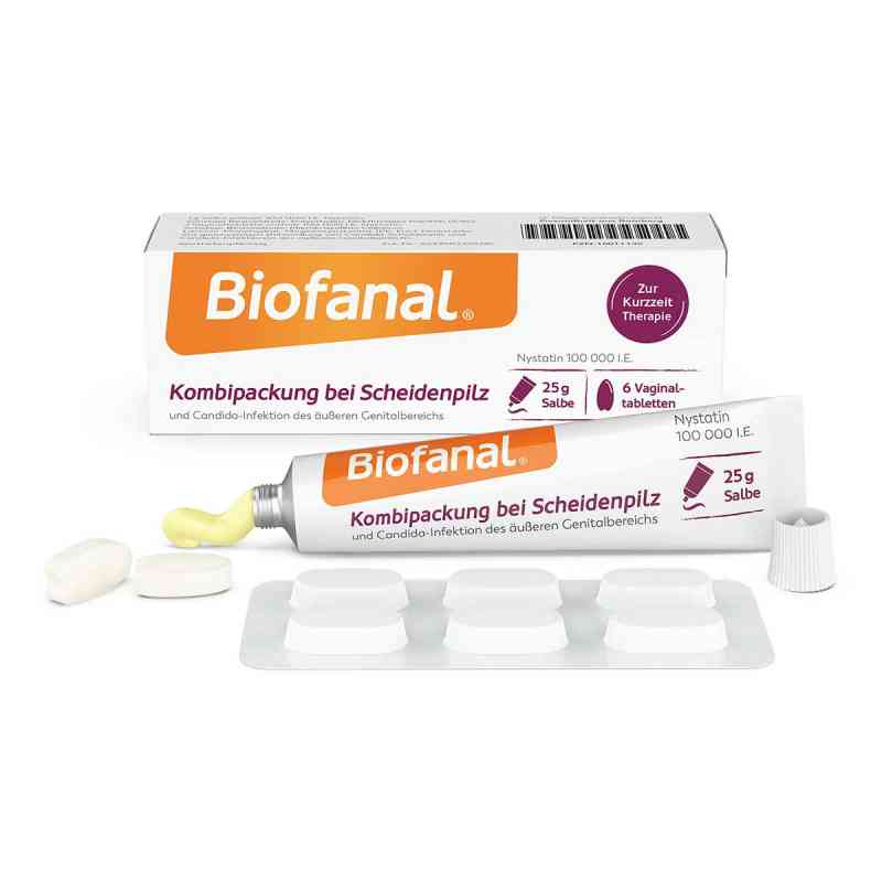 Biofanal Kombipackung bei Scheidenpilz Vaginaltabletten+Salbe  bei apo-discounter.de bestellen