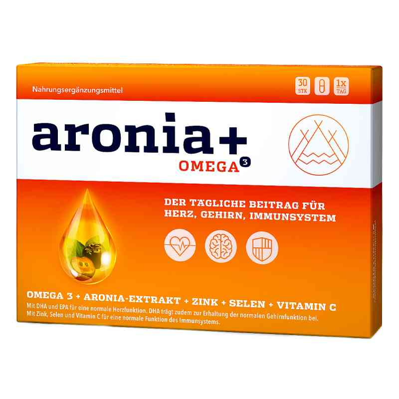 Aronia+ Omega 3 Kapseln  bei apo-discounter.de bestellen