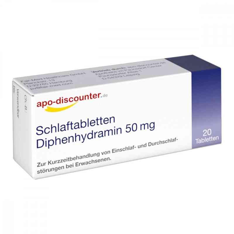 Schlaftabletten Diphenhydramin apo-discounter 50 mg Tabletten  bei apo-discounter.de bestellen