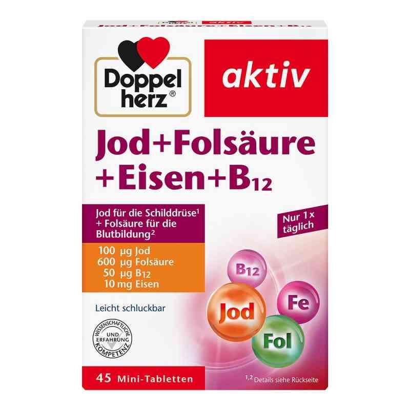 Doppelherz Jod + Folsäure + Eisen + B12 Tabletten  bei apo-discounter.de bestellen