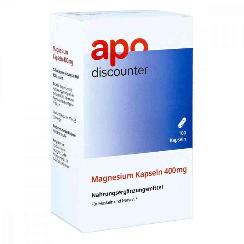 Magnesium Kapseln 400 mg von apo-discounter  bei apo-discounter.de bestellen