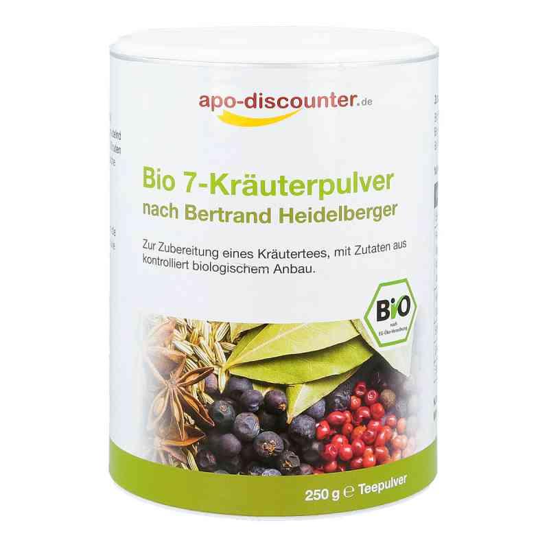 Bio 7-Kräuterpulver nach Bertrand Heidelberger von apo-discounte  bei apo-discounter.de bestellen