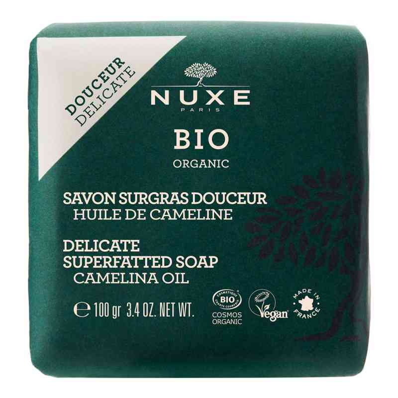Nuxe Bio Rückfettende Seife Für Zarte Haut  bei apo-discounter.de bestellen