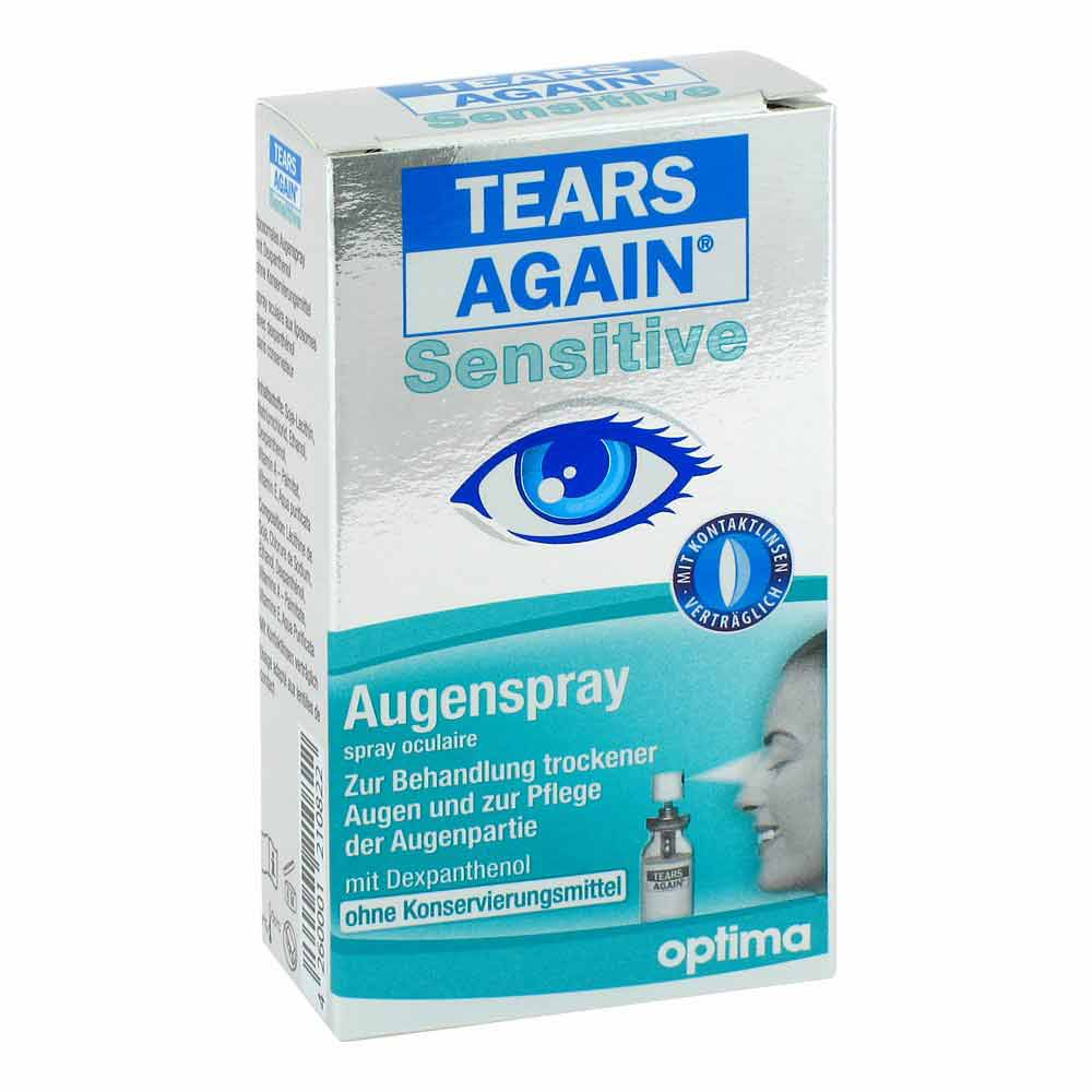 tears again sensitive augenspray 10ml pzn 09727778 ebay. Black Bedroom Furniture Sets. Home Design Ideas