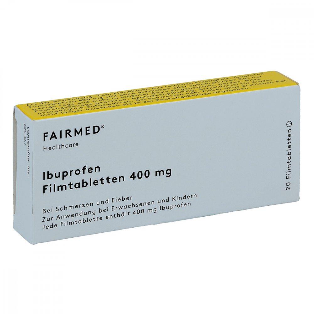 ibuprofen 400 akut fair med 20 stk online g nstig kaufen. Black Bedroom Furniture Sets. Home Design Ideas