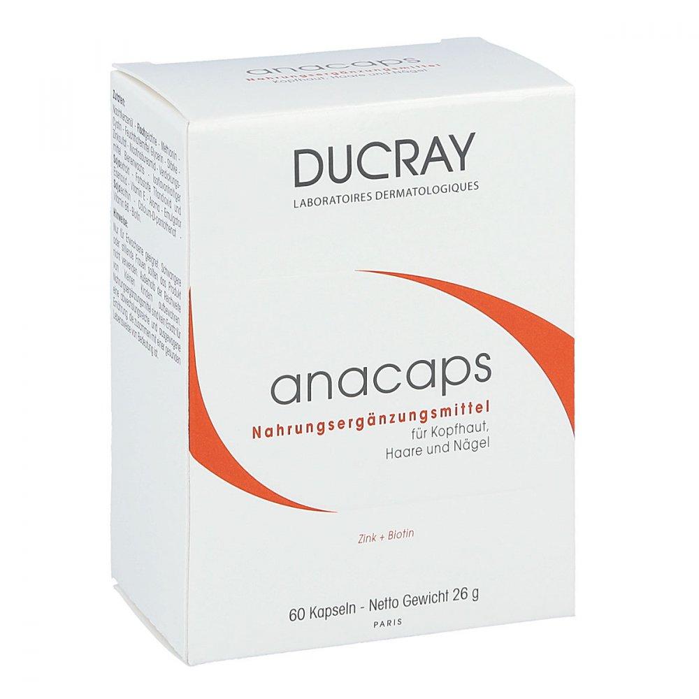 ducray anacaps mit aminos uren kapseln 60 stk. Black Bedroom Furniture Sets. Home Design Ideas