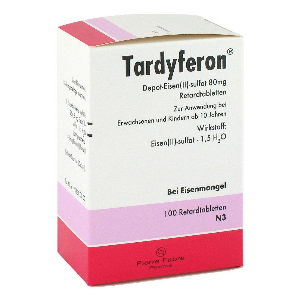 Tardyferon Depot Eisenii Sulfat 80mg 100 Stk
