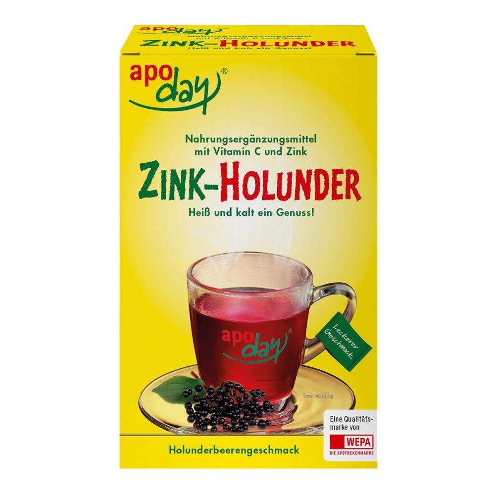 apoday holunder vitamin c zink ohne zucker pulver 10x10 g. Black Bedroom Furniture Sets. Home Design Ideas