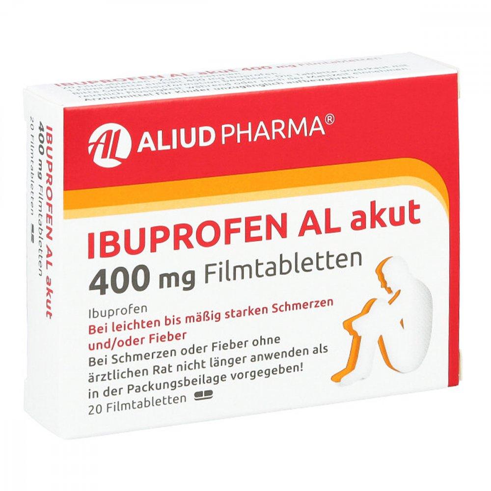 ibuprofen al akut 400mg 20 stk online g nstig kaufen. Black Bedroom Furniture Sets. Home Design Ideas