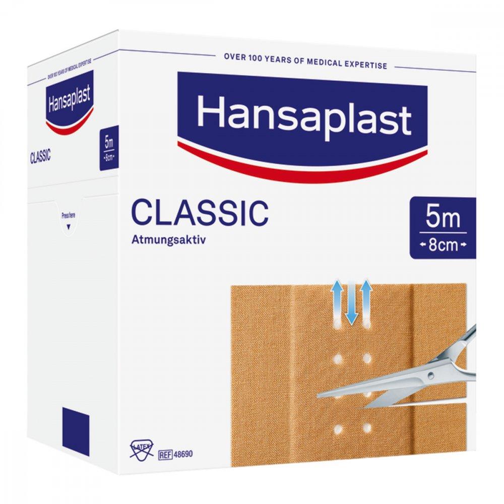 hansaplast classic pflaster 5mx8cm 1 stk online g nstig kaufen. Black Bedroom Furniture Sets. Home Design Ideas