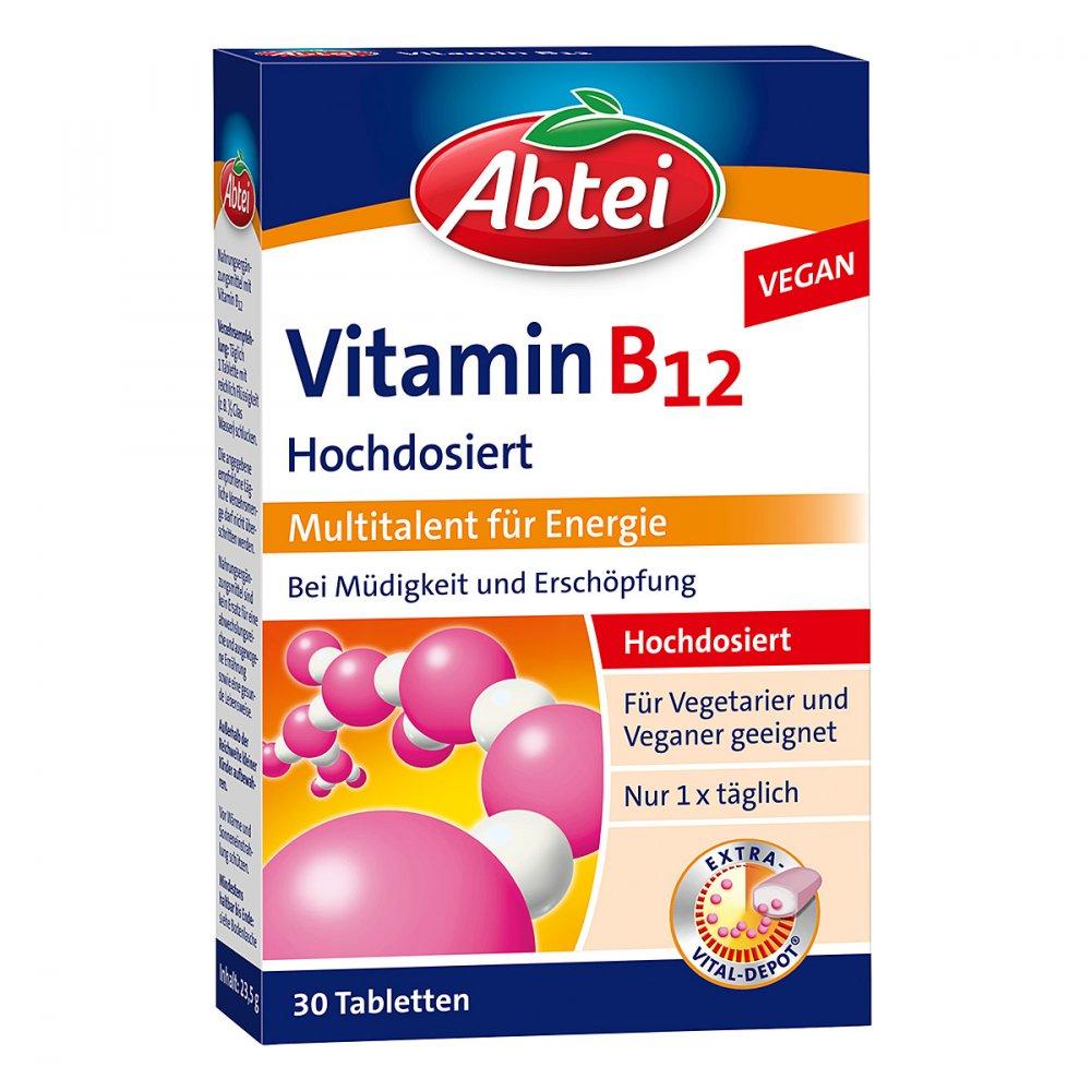 Abtei Vitamin B12 Depot Tabletten 30 Stk Online G Nstig Kaufen