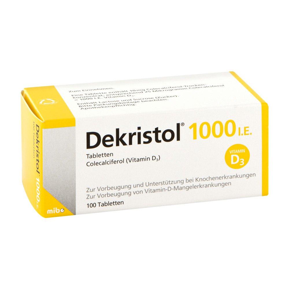 Dekristol 1.000 I.e. Tabletten 100 stk online günstig kaufen