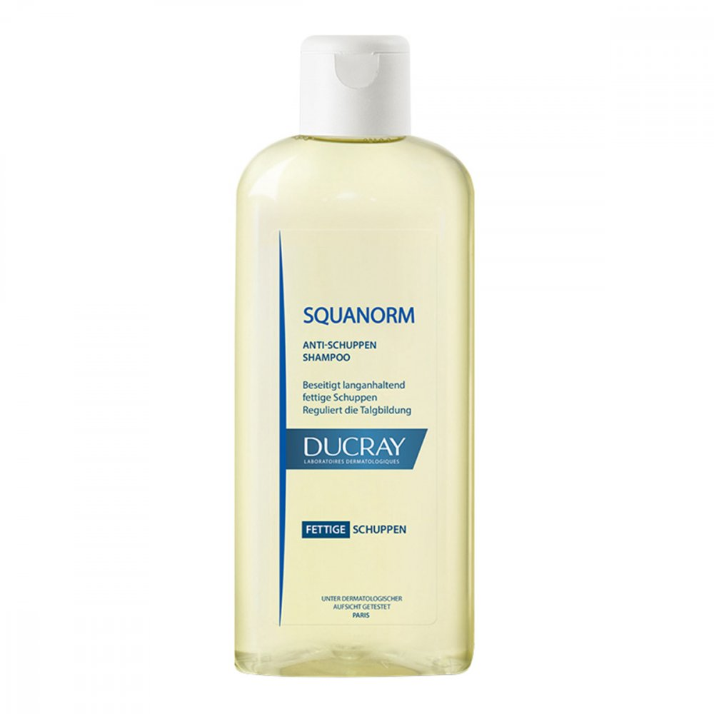 ducray squanorm fettige schuppen shampoo 200 ml. Black Bedroom Furniture Sets. Home Design Ideas