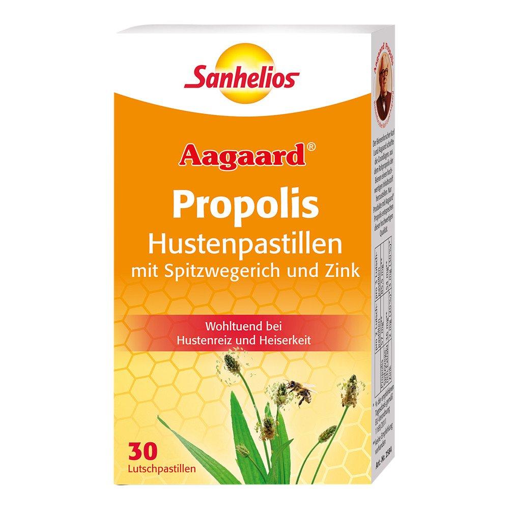 Sanhelios Aagaard Husten-pastillen mit Propolis 30 stk