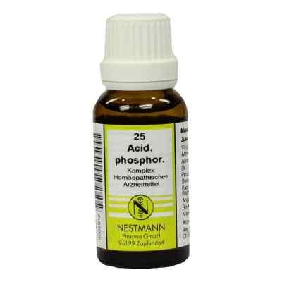 Acidum Phosphoricum Komplex Nummer  25 Dilution  bei bioapotheke.de bestellen
