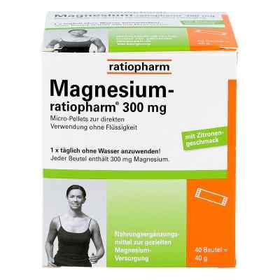Magnesium Ratiopharm 300 mg Micro Pell.m.gran.  bei apo-discounter.de bestellen