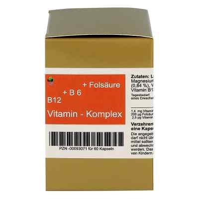Vitamin B12 + B6 + Folsäure Komplex N Kapseln  bei bioapotheke.de bestellen