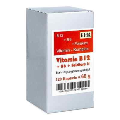 Vitamin B12 + B6 + Folsäure Komplex N Kapseln  bei apo-discounter.de bestellen
