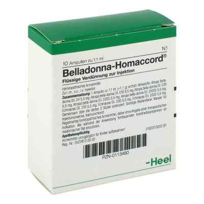 Belladonna Homaccord Ampullen  bei bioapotheke.de bestellen