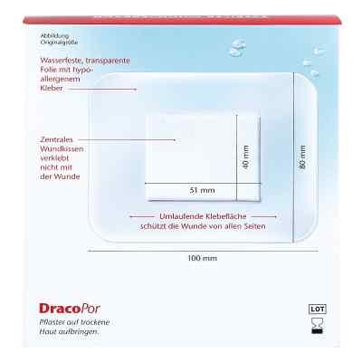Dracopor waterproof Wundverband steril 8x10cm  bei apo-discounter.de bestellen