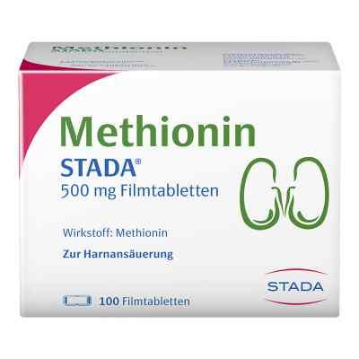 Methionin Stada 500 mg Filmtabletten  bei apo-discounter.de bestellen