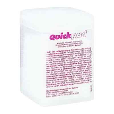 Quickpad Alkohol Tupfer Spender  bei apo-discounter.de bestellen
