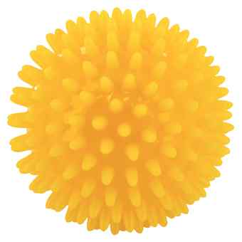 Igelball 8cm gelb
