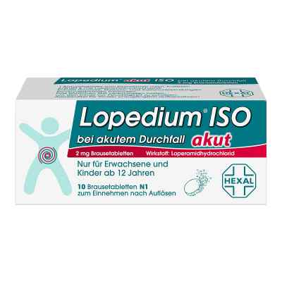 Lopedium akut ISO bei akutem Durchfall  bei apo-discounter.de bestellen