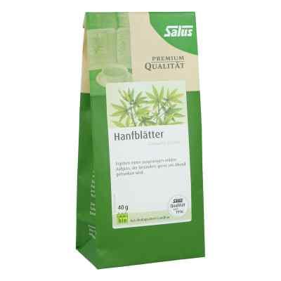 Hanfblätter Tee Bio Cannabis folium Salus