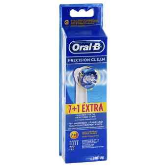 Oral B Aufsteckbürsten Precision Clean 7er+1  bei bioapotheke.de bestellen