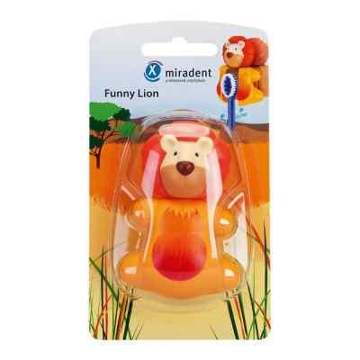 Miradent Kinderzahnbürstenhalter Funny Löwe  bei apo-discounter.de bestellen