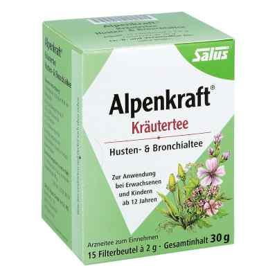 Alpenkraft Husten- und Bronchialtee Salus