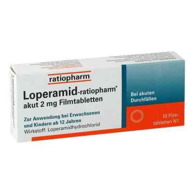 Loperamid-ratiopharm akut 2mg  bei apo-discounter.de bestellen