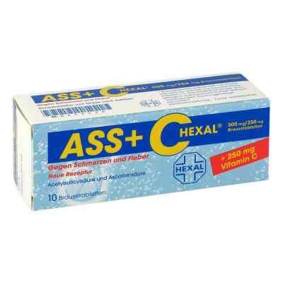 ASS+C HEXAL gegen Schmerzen und Fieber