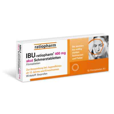 IBU-ratiopharm 400 akut Schmerztabletten  bei apo-discounter.de bestellen