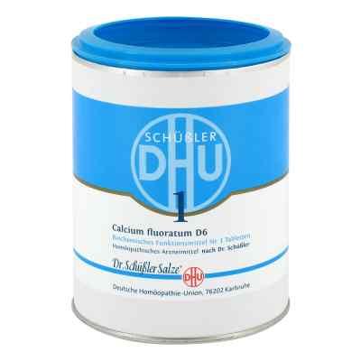 Biochemie Dhu 1 Calcium fluorat.D 6 Tabletten  bei apo-discounter.de bestellen