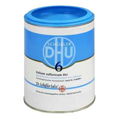 Biochemie Dhu 6 Kalium Sulfur D12 Tabletten  bei apo-discounter.de bestellen