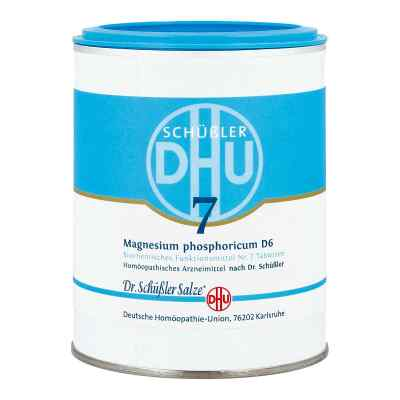 Biochemie Dhu 7 Magnesium phosphoricum D  6 Tabletten  bei bioapotheke.de bestellen