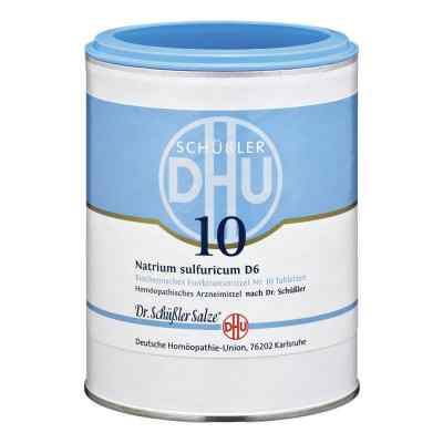 Biochemie Dhu 10 Natrium Sulfur D  6 Tabletten  bei apo-discounter.de bestellen
