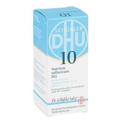 Biochemie Dhu 10 Natrium Sulfur D  12 Tabletten  bei apo-discounter.de bestellen