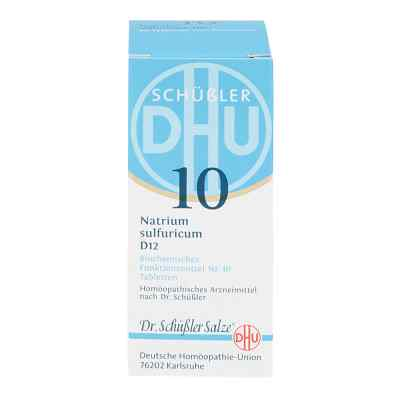 Biochemie Dhu 10 Natrium Sulfur D12 Tabletten  bei apo-discounter.de bestellen