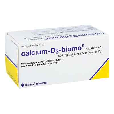 Calcium D3 biomo Kautabletten 500+d  bei apo-discounter.de bestellen